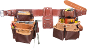 Occidental Leather 5089 Seven-Bag Framer Tools Belt