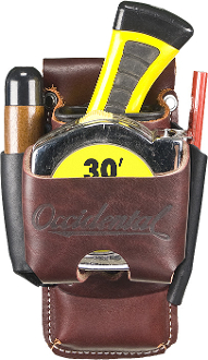 Occidental Leather 5522 - Belt Worn 4 in 1 Tool/Tape Holder