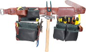 Occidental Leather B5625 Green Building Framer Set- Black