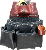 Occidental Leather B5018DB 3 Pouch Pro Tool™ Bag- Black
