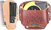 Occidental Leather 5046 Clip-On Tape Holder - Large