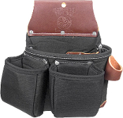Occidental Leather B8017DB OxyLights™ 3 Pouch Tool Bag