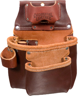 Occidental Leather 5018LH - 2 Pouch Pro Tool Bag - Left Handed