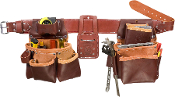 Occidental Leather 5080DBLH Pro Framer Pckge w/ DBL Outer Bag-LH