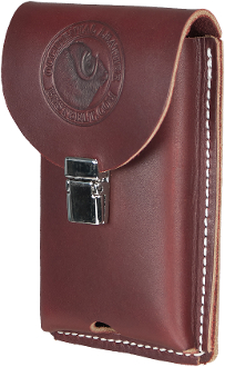Occidental Leather 5326 - Clip-On Leather Phone Holster