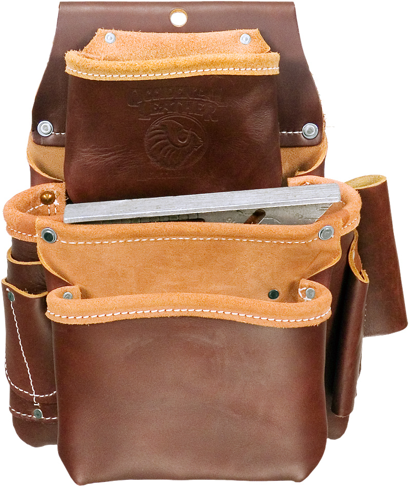 Occidental Leather 5080DBL Pro Framer Tool Belt with Double Outer Bag Size Large
